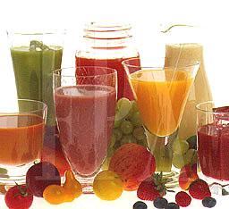 น้ำผักน้ำผลไม้ เครื่องดื่มสำหรับคนลดน้ำหนัก